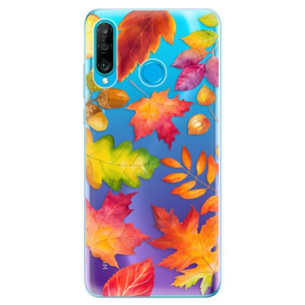 Odolné silikonové pouzdro iSaprio - Autumn Leaves 01 - Huawei P30 Lite
