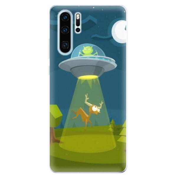 Odolné silikonové pouzdro iSaprio - Alien 01 - Huawei P30 Pro