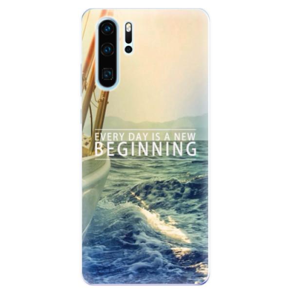 Odolné silikonové pouzdro iSaprio - Beginning - Huawei P30 Pro