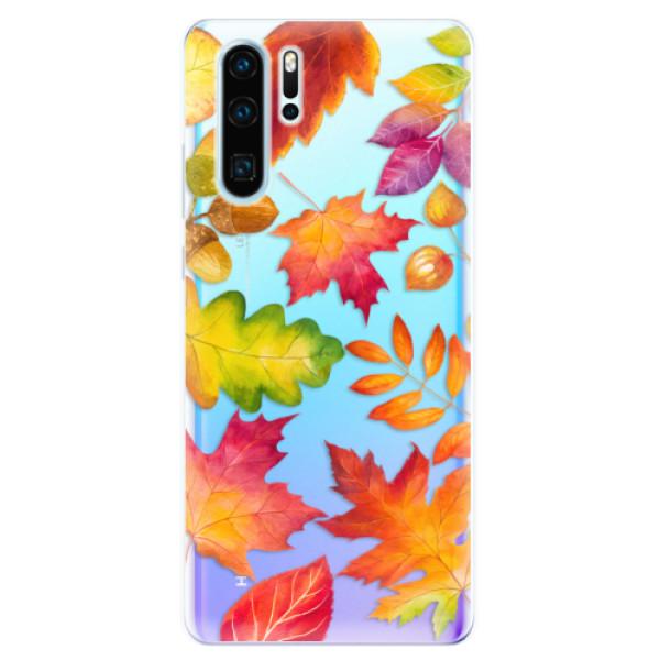 Odolné silikonové pouzdro iSaprio - Autumn Leaves 01 - Huawei P30 Pro