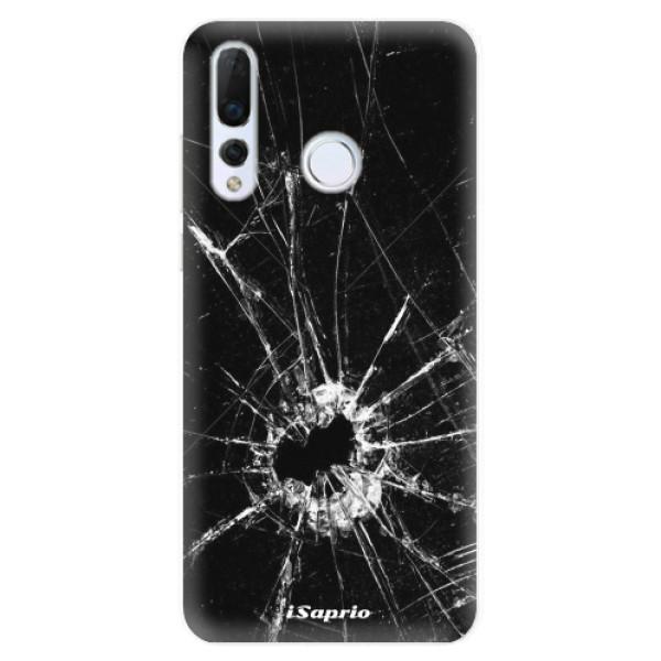 Odolné silikonové pouzdro iSaprio - Broken Glass 10 - Huawei Nova 4