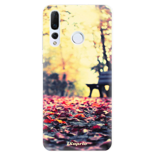 Odolné silikonové pouzdro iSaprio - Bench 01 - Huawei Nova 4