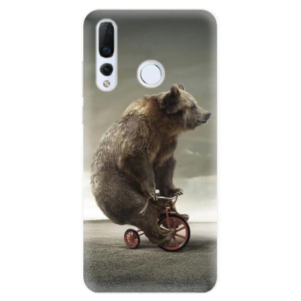 Odolné silikonové pouzdro iSaprio - Bear 01 - Huawei Nova 4