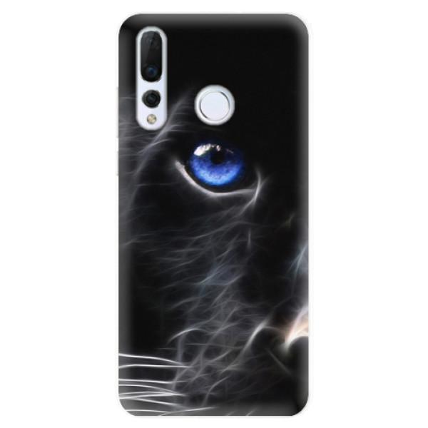 Odolné silikonové pouzdro iSaprio - Black Puma - Huawei Nova 4