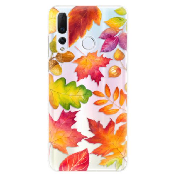 Odolné silikonové pouzdro iSaprio - Autumn Leaves 01 - Huawei Nova 4