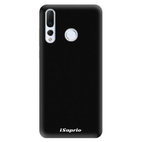 Odolné silikonové pouzdro iSaprio - 4Pure - černý - Huawei Nova 4