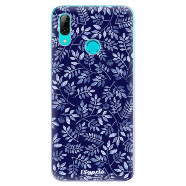 Odolné silikonové pouzdro iSaprio - Blue Leaves 05 - Huawei P Smart 2019