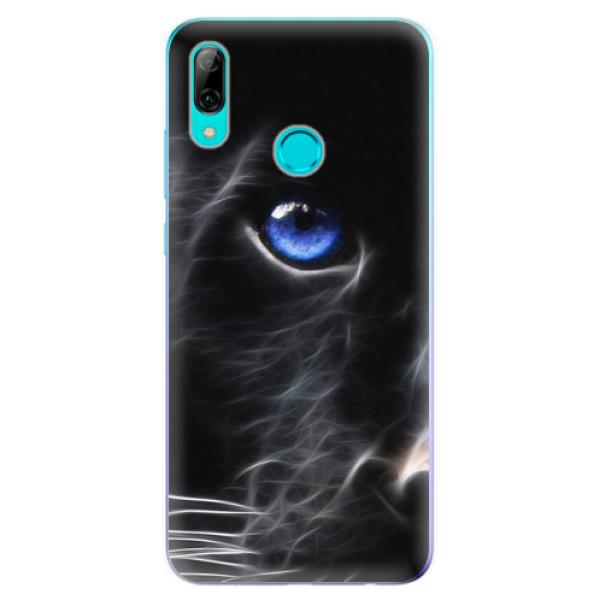 Odolné silikonové pouzdro iSaprio - Black Puma - Huawei P Smart 2019