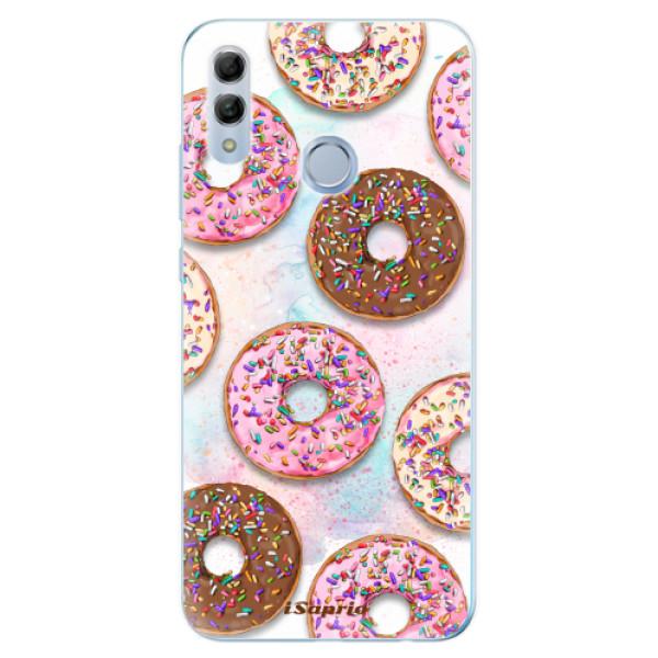 Odolné silikonové pouzdro iSaprio - Donuts 11 - Huawei Honor 10 Lite