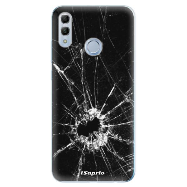 Odolné silikonové pouzdro iSaprio - Broken Glass 10 - Huawei Honor 10 Lite
