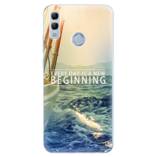 Odolné silikonové pouzdro iSaprio - Beginning - Huawei Honor 10 Lite