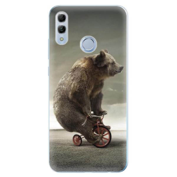 Odolné silikonové pouzdro iSaprio - Bear 01 - Huawei Honor 10 Lite