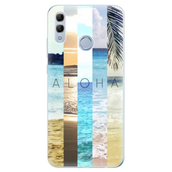 Odolné silikonové pouzdro iSaprio - Aloha 02 - Huawei Honor 10 Lite