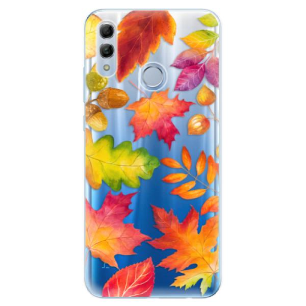Odolné silikonové pouzdro iSaprio - Autumn Leaves 01 - Huawei Honor 10 Lite