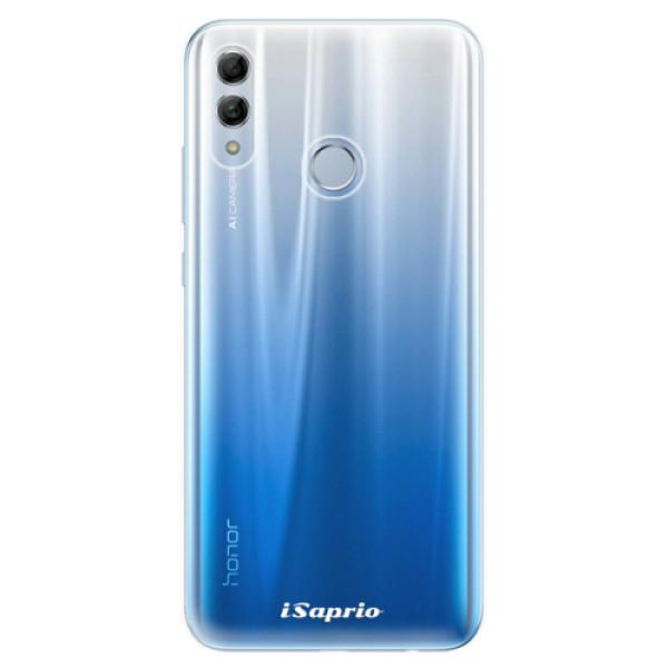 Odolné silikonové pouzdro iSaprio – 4Pure – čirý bez potisku – Huawei Honor 10 Lite