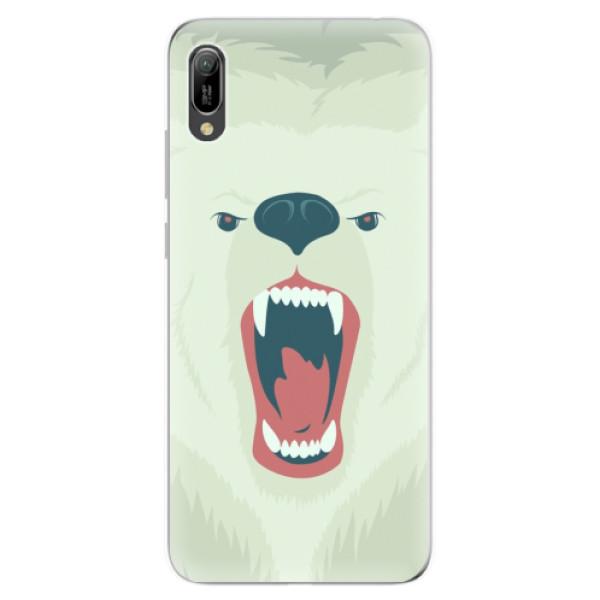 Odolné silikonové pouzdro iSaprio - Angry Bear - Huawei Y6 2019