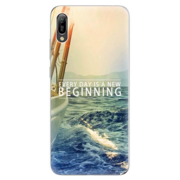 Odolné silikonové pouzdro iSaprio - Beginning - Huawei Y6 2019