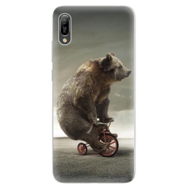 Odolné silikonové pouzdro iSaprio - Bear 01 - Huawei Y6 2019