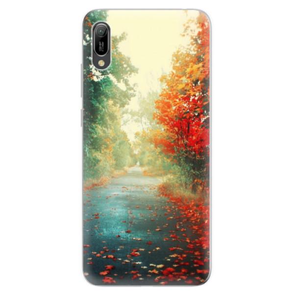 Odolné silikonové pouzdro iSaprio - Autumn 03 - Huawei Y6 2019