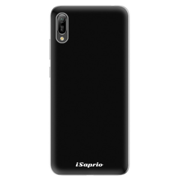 Odolné silikonové pouzdro iSaprio - 4Pure - černý - Huawei Y6 2019