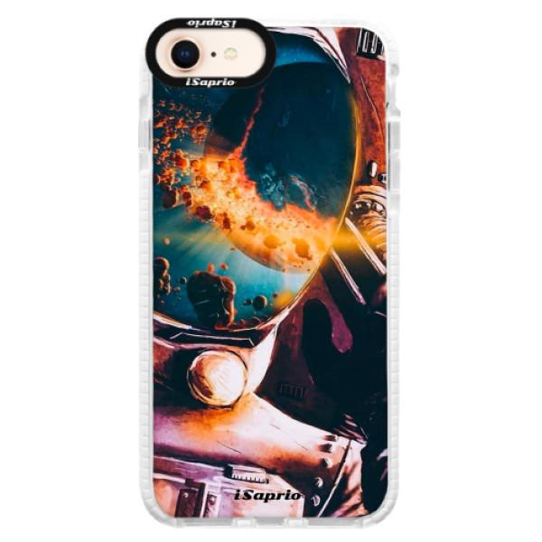 Silikonové pouzdro Bumper iSaprio - Astronaut 01 - iPhone 8