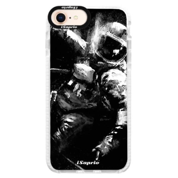 Silikonové pouzdro Bumper iSaprio - Astronaut 02 - iPhone 8
