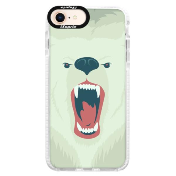 Silikonové pouzdro Bumper iSaprio - Angry Bear - iPhone 8