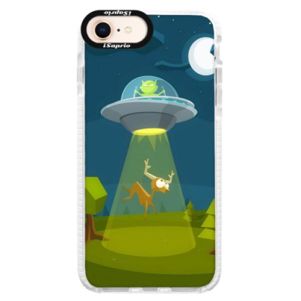 Silikonové pouzdro Bumper iSaprio - Alien 01 - iPhone 8