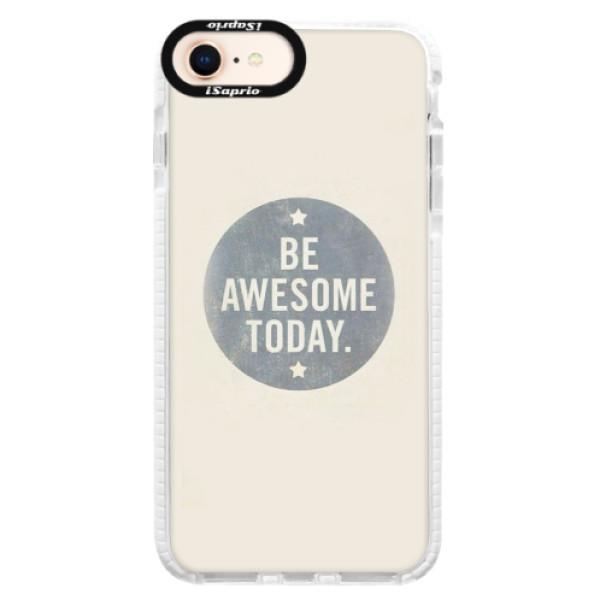 Silikonové pouzdro Bumper iSaprio - Awesome 02 - iPhone 8