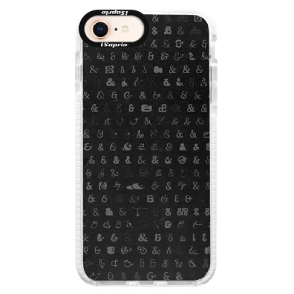 Silikonové pouzdro Bumper iSaprio - Ampersand 01 - iPhone 8