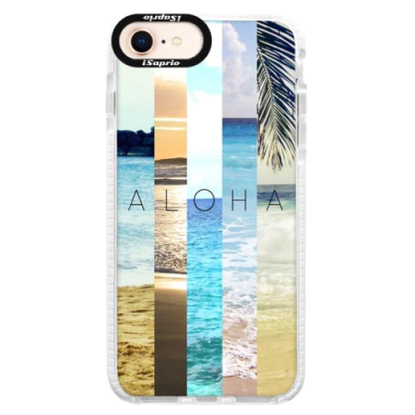 Silikonové pouzdro Bumper iSaprio - Aloha 02 - iPhone 8