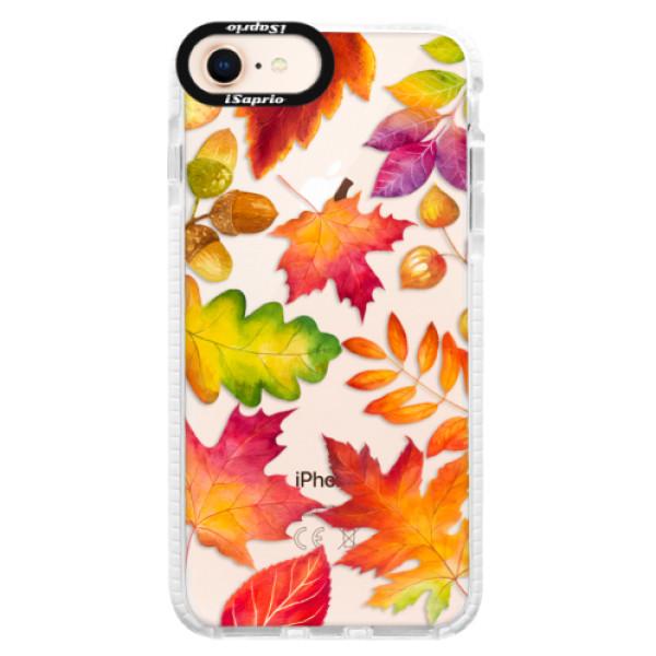 Silikonové pouzdro Bumper iSaprio - Autumn Leaves 01 - iPhone 8