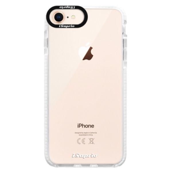 Silikonové pouzdro Bumper iSaprio - 4Pure - mléčný bez potisku - iPhone 8