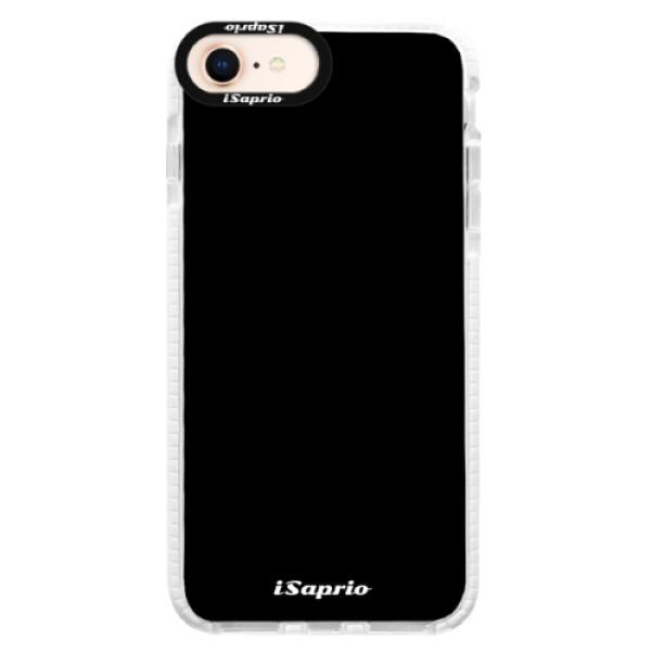 Silikonové pouzdro Bumper iSaprio - 4Pure - černý - iPhone 8