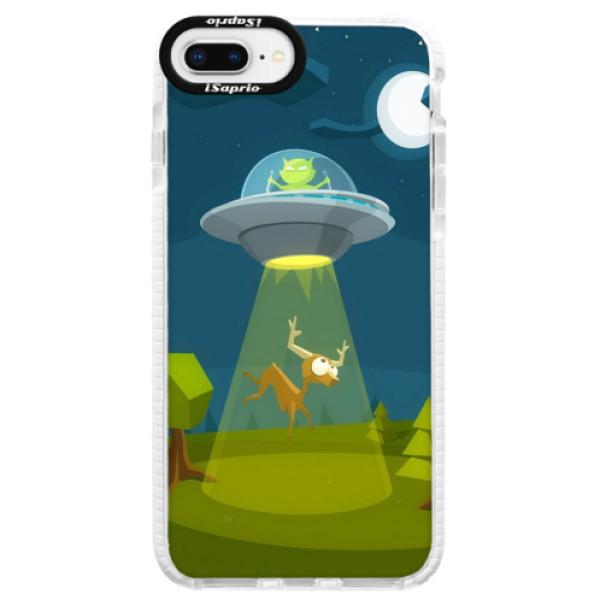 Silikonové pouzdro Bumper iSaprio - Alien 01 - iPhone 8 Plus