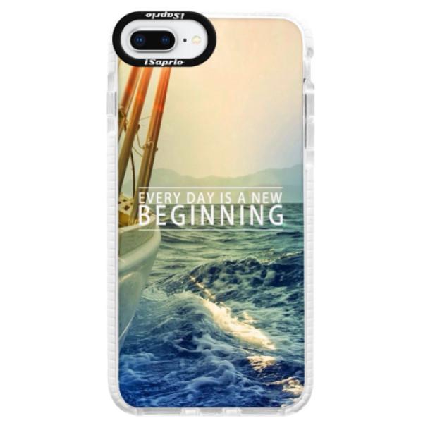 Silikonové pouzdro Bumper iSaprio - Beginning - iPhone 8 Plus