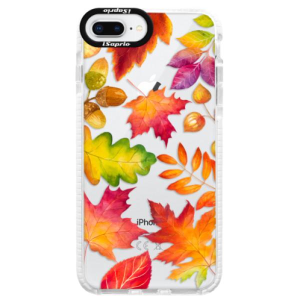 Silikonové pouzdro Bumper iSaprio - Autumn Leaves 01 - iPhone 8 Plus