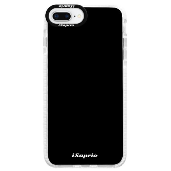 Silikonové pouzdro Bumper iSaprio - 4Pure - černý - iPhone 8 Plus