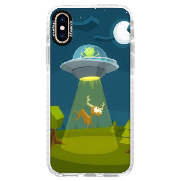Silikonové pouzdro Bumper iSaprio - Alien 01 - iPhone XS