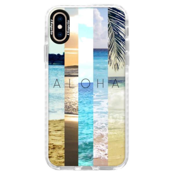 Silikonové pouzdro Bumper iSaprio - Aloha 02 - iPhone XS