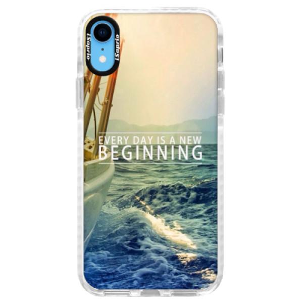 Silikonové pouzdro Bumper iSaprio - Beginning - iPhone XR