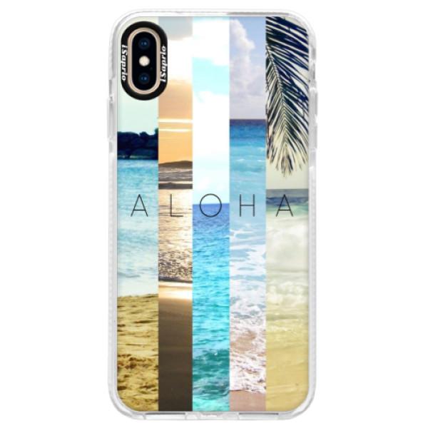 Silikonové pouzdro Bumper iSaprio - Aloha 02 - iPhone XS Max