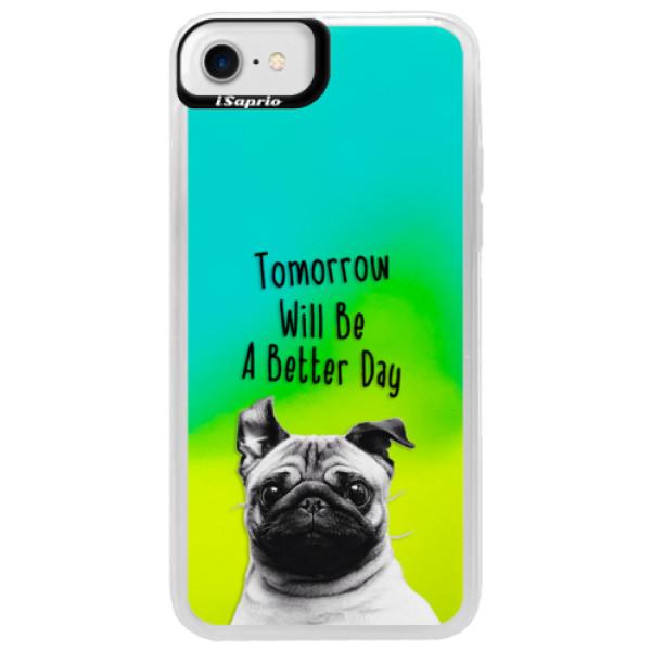 Neonové pouzdro Blue iSaprio - Better Day 01 - iPhone 7