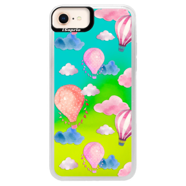 Neonové pouzdro Blue iSaprio - Summer Sky - iPhone 8