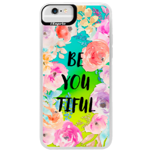 Neonové pouzdro Blue iSaprio - BeYouTiful - iPhone 6 Plus/6S Plus