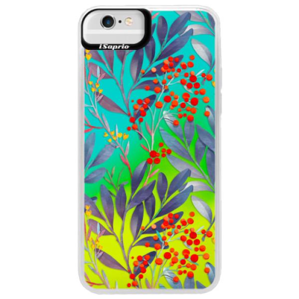 Neonové pouzdro Blue iSaprio - Rowanberry - iPhone 6 Plus/6S Plus
