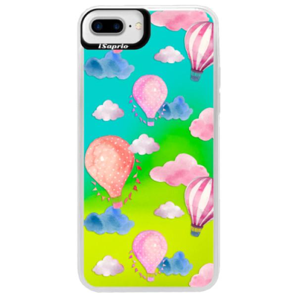 Neonové pouzdro Blue iSaprio - Summer Sky - iPhone 7 Plus