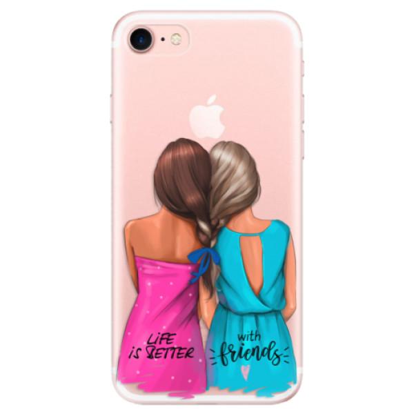 Levně Odolné silikonové pouzdro iSaprio - Best Friends - iPhone 7
