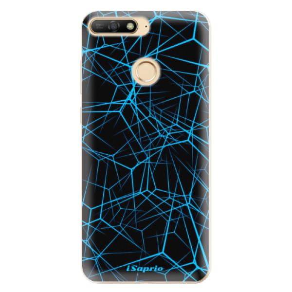 Odolné silikonové pouzdro iSaprio - Abstract Outlines 12 - Huawei Y6 Prime 2018