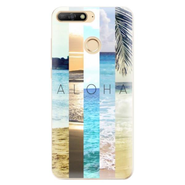 Odolné silikonové pouzdro iSaprio - Aloha 02 - Huawei Y6 Prime 2018